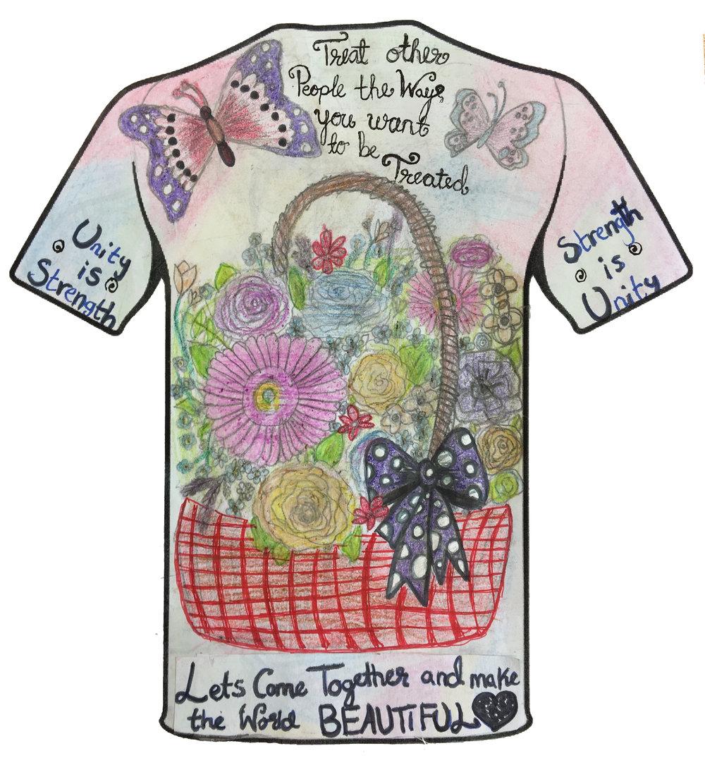 Rumaisa Iqbal - Cardiff Muslim Primary School - Cardiff - Clothing Design Years 3&4 Category (Back)