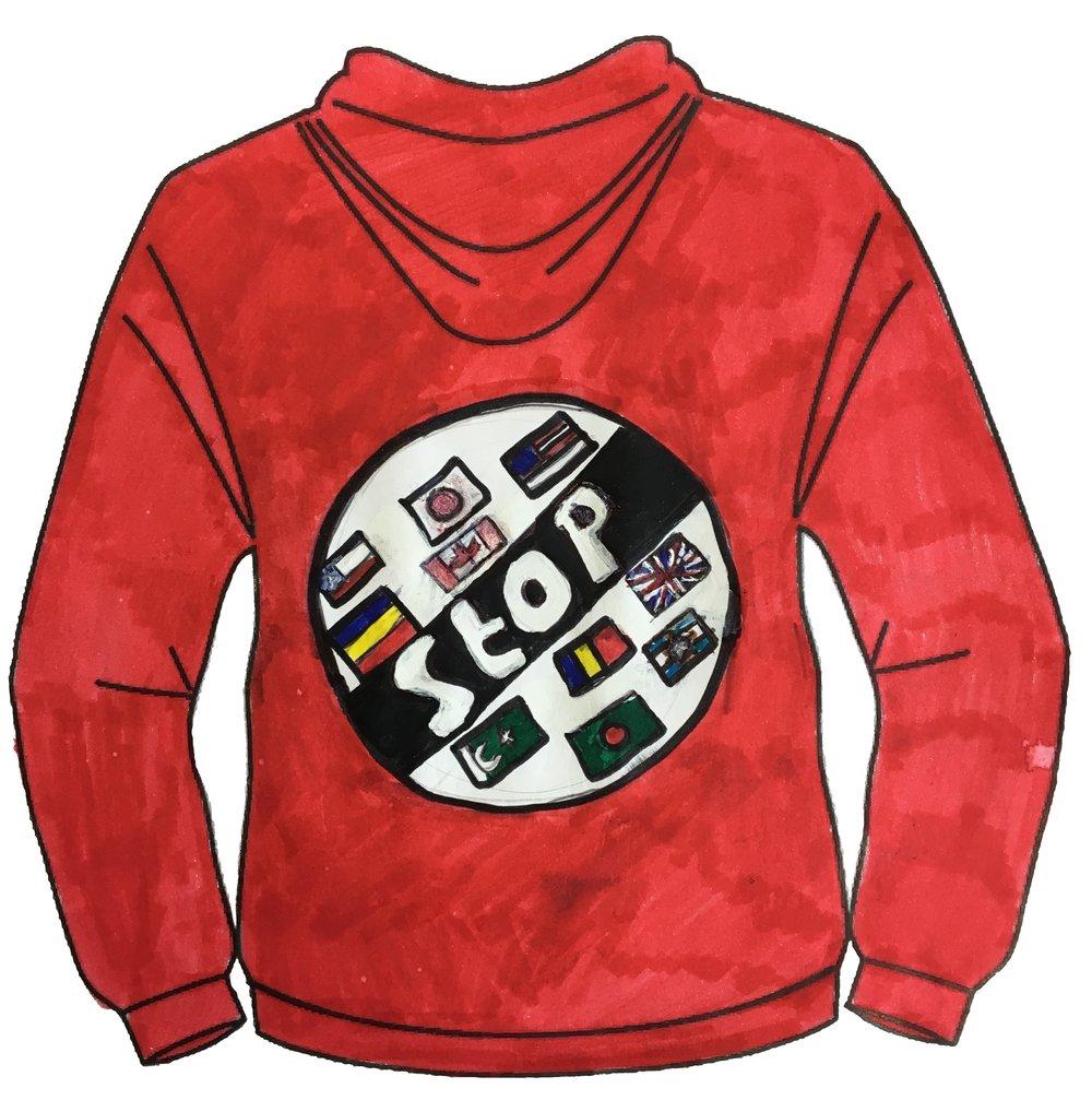 Arman Rashid - St Helen's Primary School - Swansea - Clothing Design Years 5&6 Category (Back)