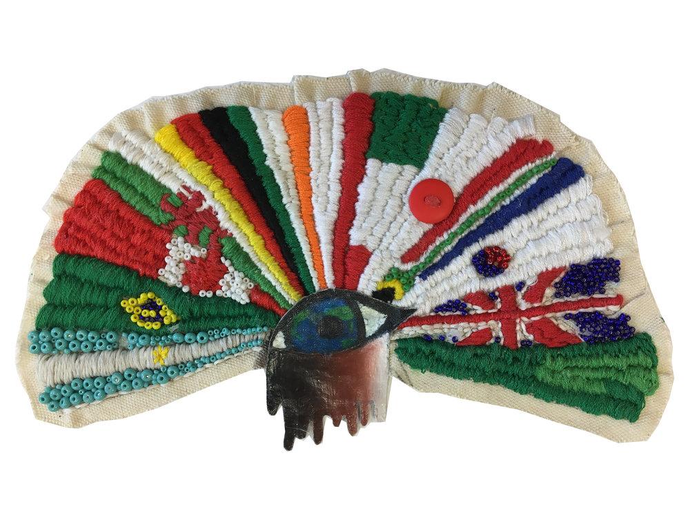 Heather Chamerblain - Crickhowell High School - Powys - Clothing Design Y 9+ Category (textile)