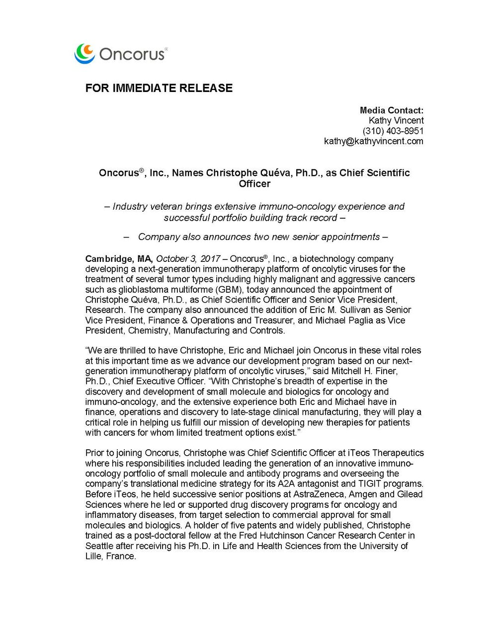 Oncorus Queva et al Appointment Press Release APPROVED 100317 9aET_Page_1.jpg