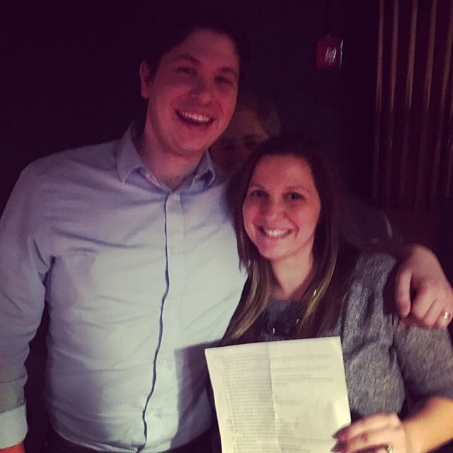 Congrats to our first Oncorus trivia winners! #teamjill&john #tiebreaker #ceophotobomb