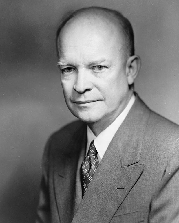 Dwight D. Eisenhower. Source: Wikimedia