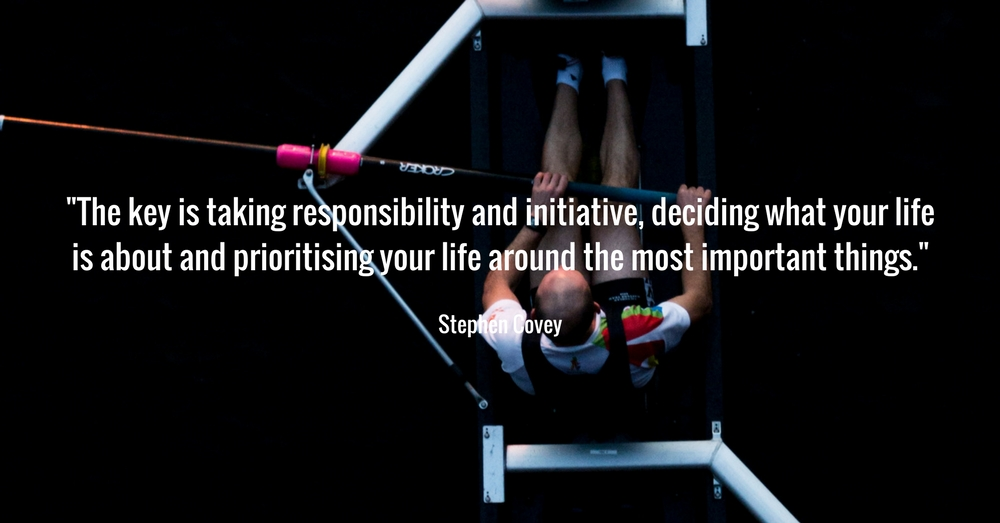 Stephen Covey - Prioritise what is important in your life