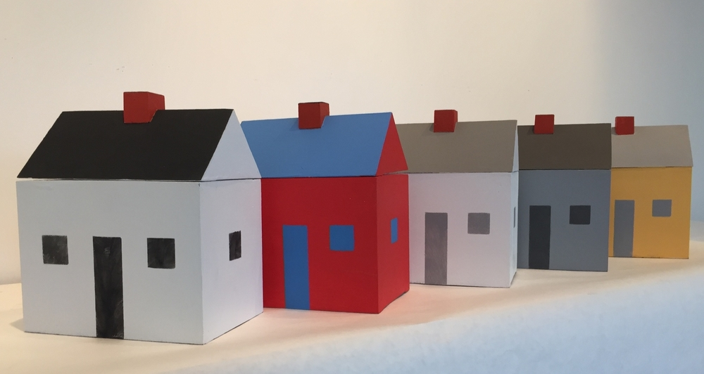 House Box Sculptures