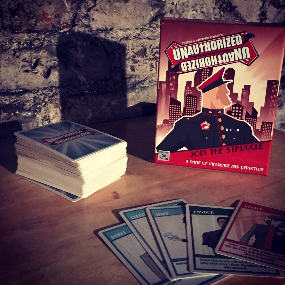 underground church the card game biblical geek