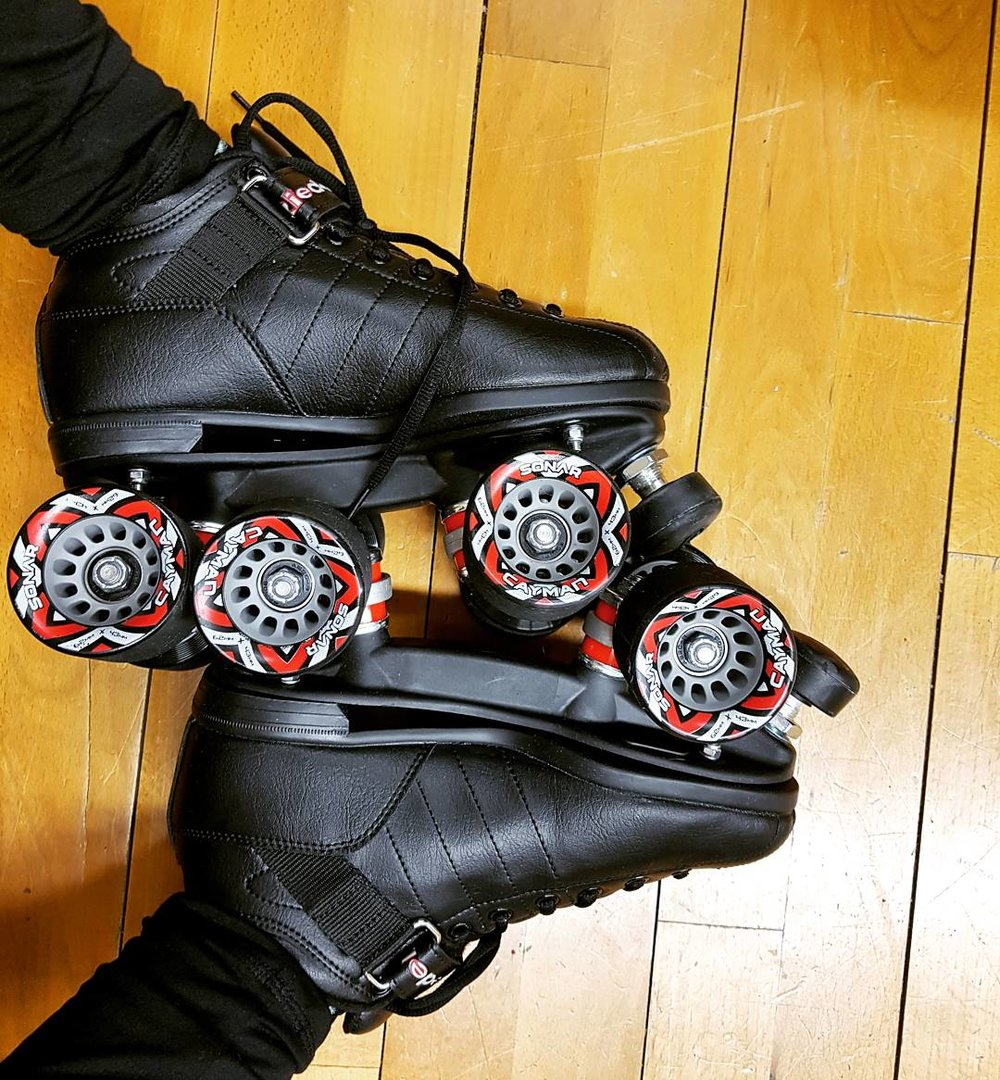 These are my new skates! I already want more!