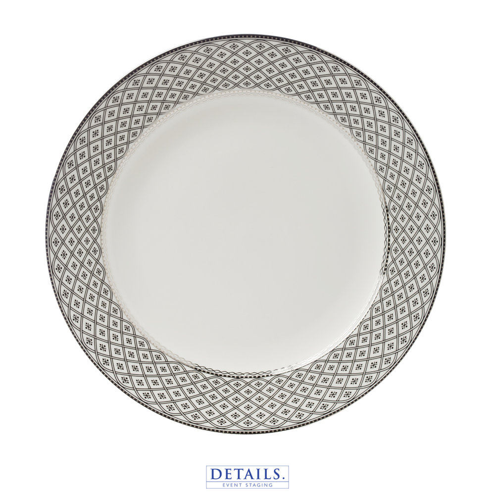 MARCELLA SILVER PLATE — AVAILABLE IN B&B, LUNCHEON, AND DINNER SIZES