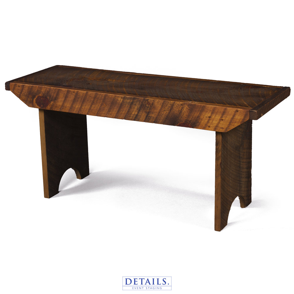 "Barn Bench — 40"" Wide (ACCOMMODATES 2 Guests)"