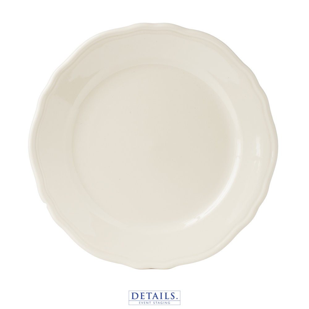 Homer Laughlin Carolyn — Available in B&B, Luncheon, and Dinner Plate Sizes