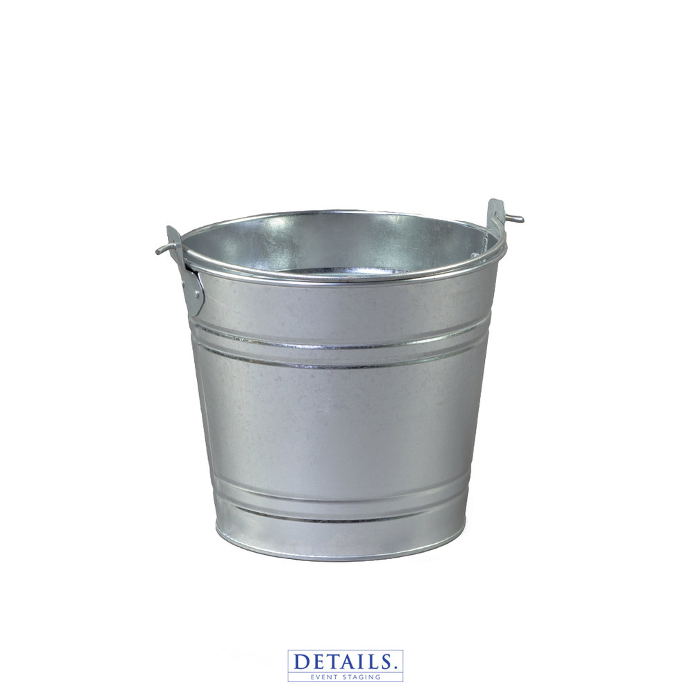 Small ICE PAIL — GALVANIZED STEEL