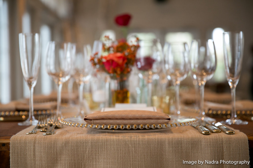 Wedding Reception at Hidden Pond in Kennebunkport, Maine  |  Image by Nadra Photography
