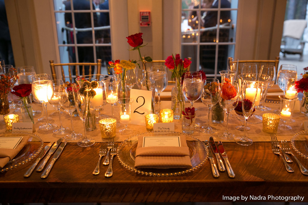 Wedding Reception at Hidden Pond in Kennebunkport, Maine  |  Image by Nadra Photograph