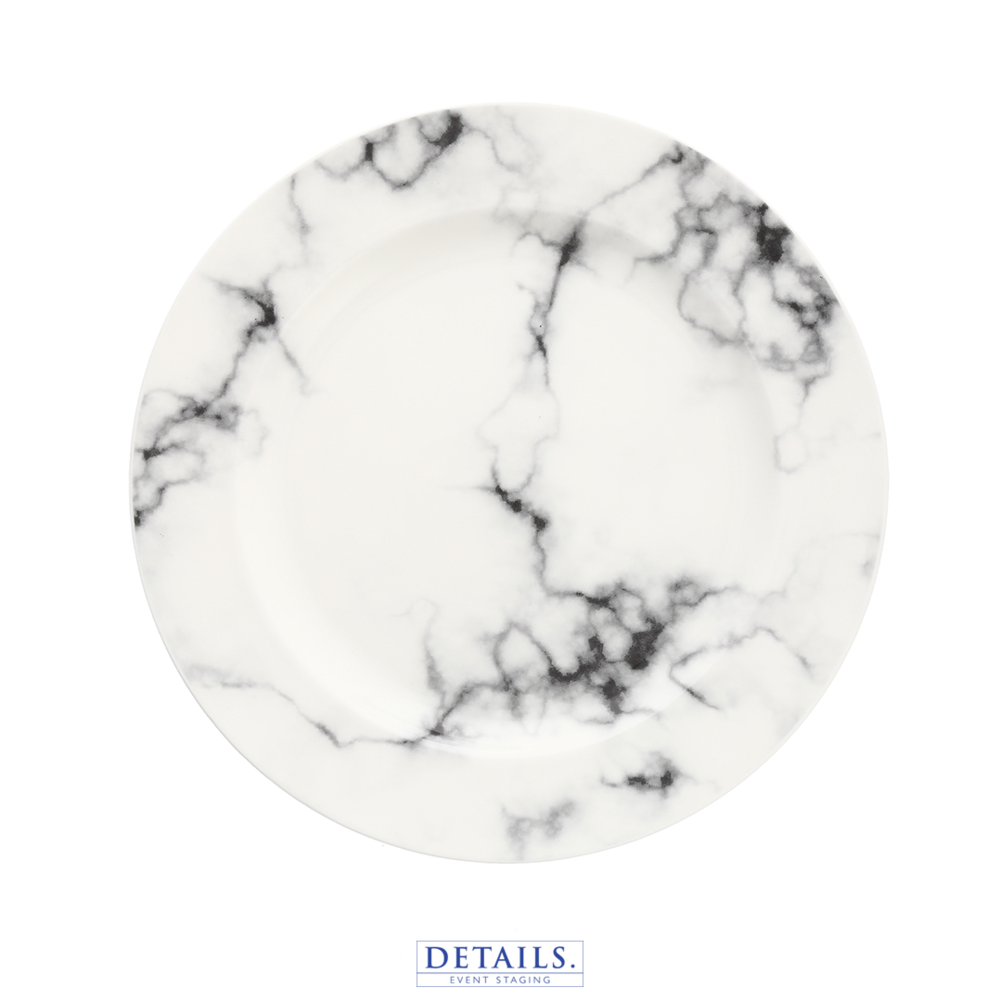 Natural Marble Plate - Available in Charger Size Only