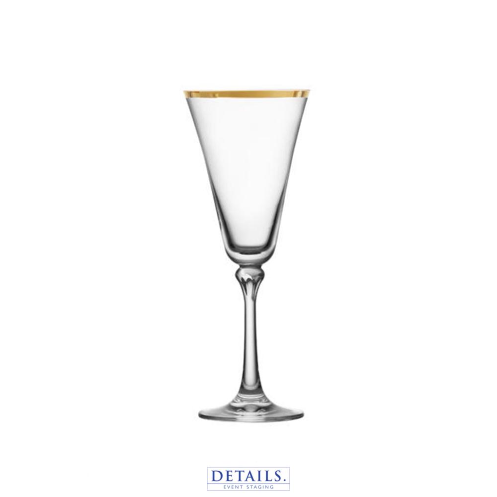 SCHOTT ZWIESEL - Charlotte Gold Rimmed White Wine Glass (10 oz)