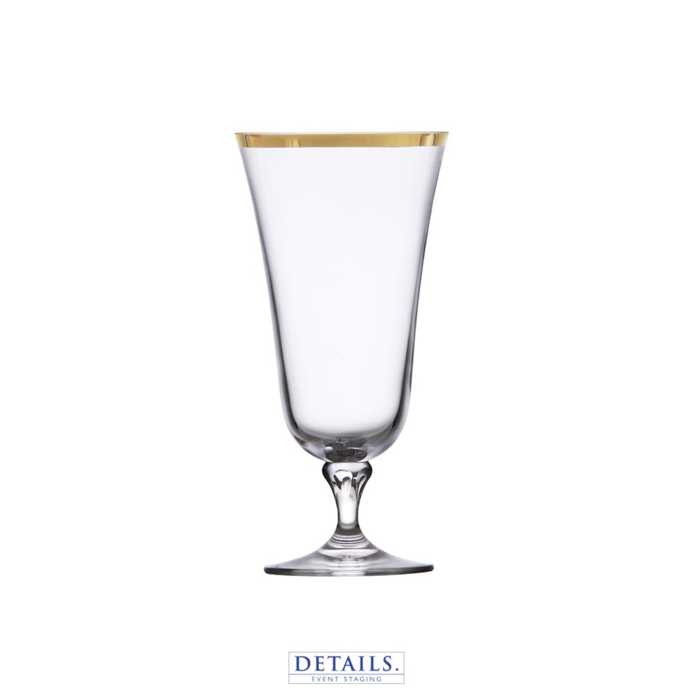 SCHOTT ZWIESEL - Charlotte Gold Rimmed Water Glass (15 oz)