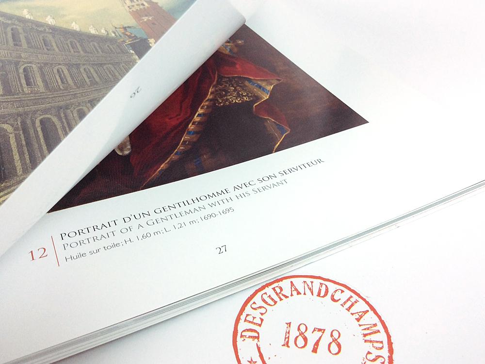 Catalogue de vente (courtoisie Galerie Jean François Heim - Bâle)