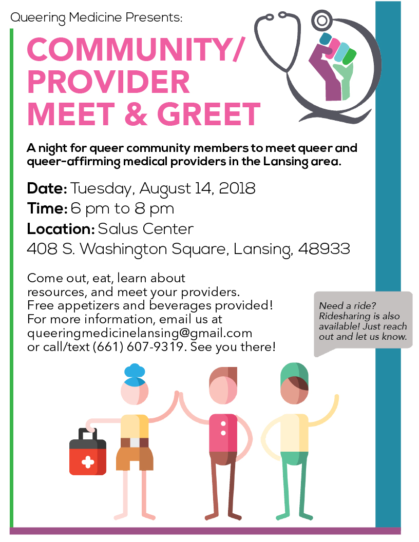 Provider Meet and Greet Flyer