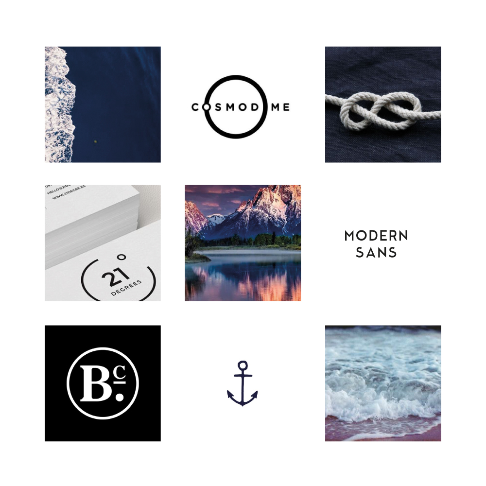 brand mood board