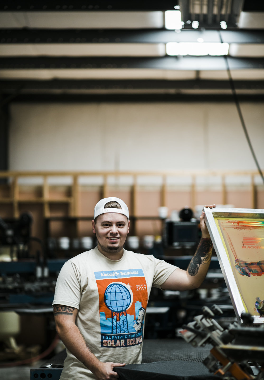 Jesse Barlow -  Established in 2016, Blacksheep Printing had one goal – to make tee shirts better. Our team came together with years of combined experience in the industry with a common vision to do things differently. Our focus on our craft, and dedication to our community has been the driving force behind our company.