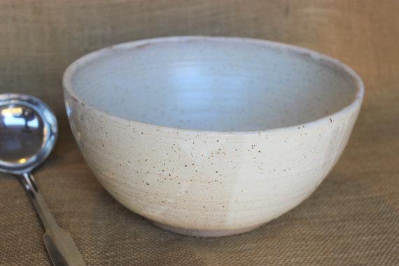 Ceramic Serving Bowl  - Aud Pottery • $70