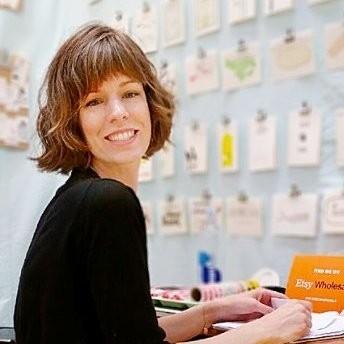 Kate Thurman  Craft Fair Pro, Wholesale  Smarty Pants Paper @smartypantspaper