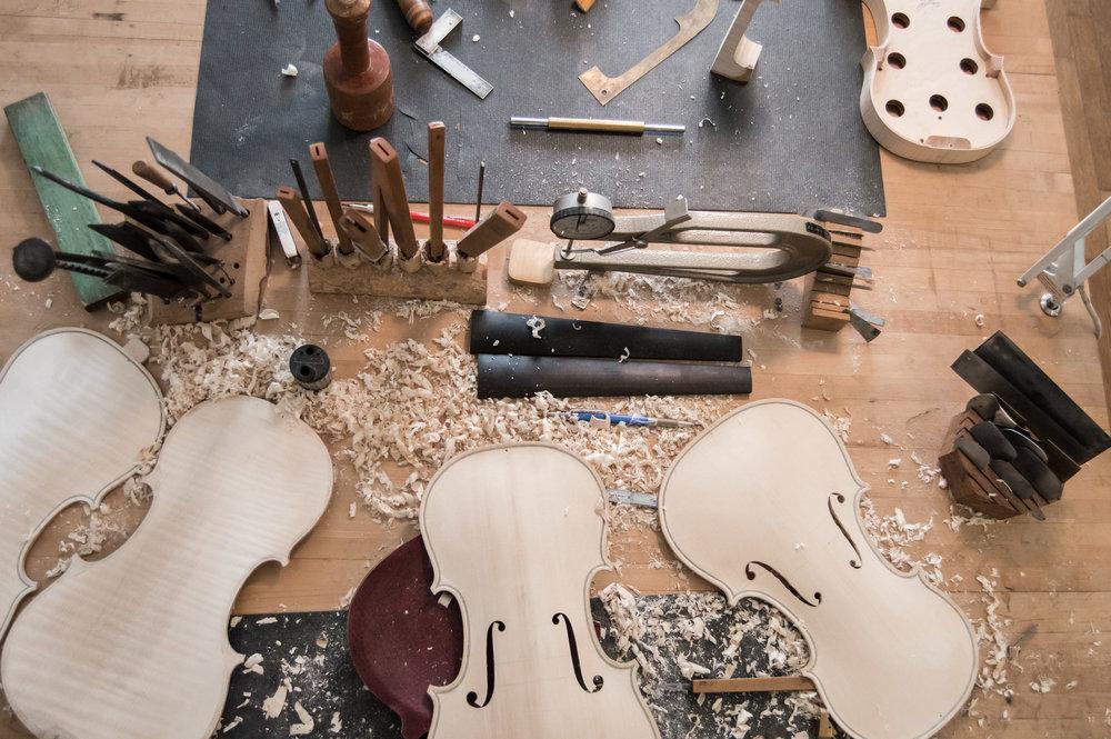 Kelvin Scott Violins    • Photo by Maranda Vandergriff