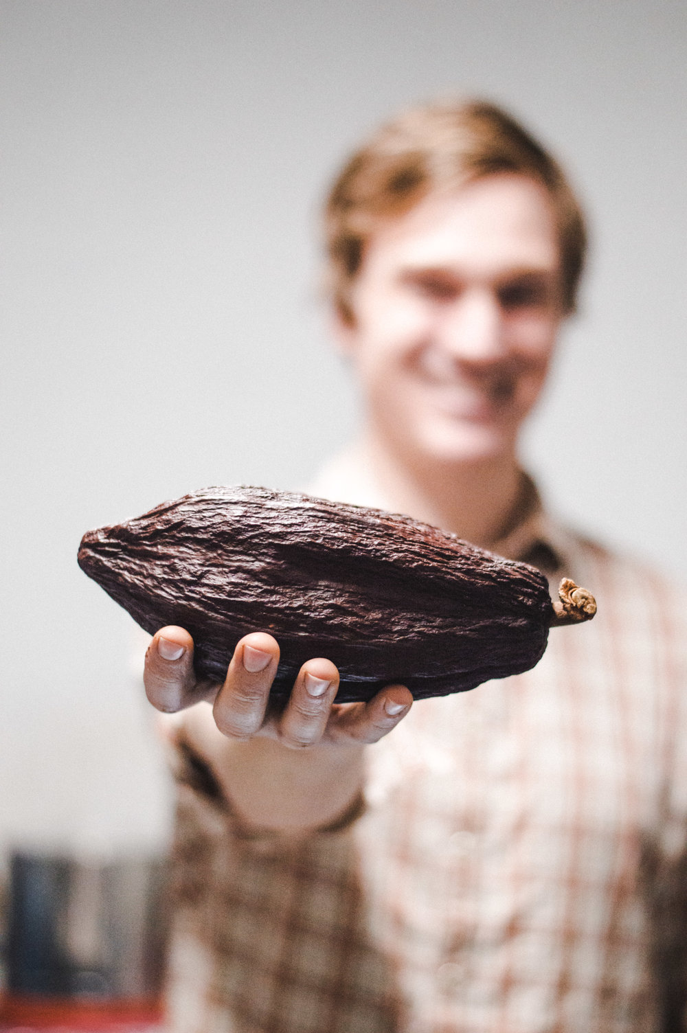 Nathan Hilbert of    Unrefined Chocolate