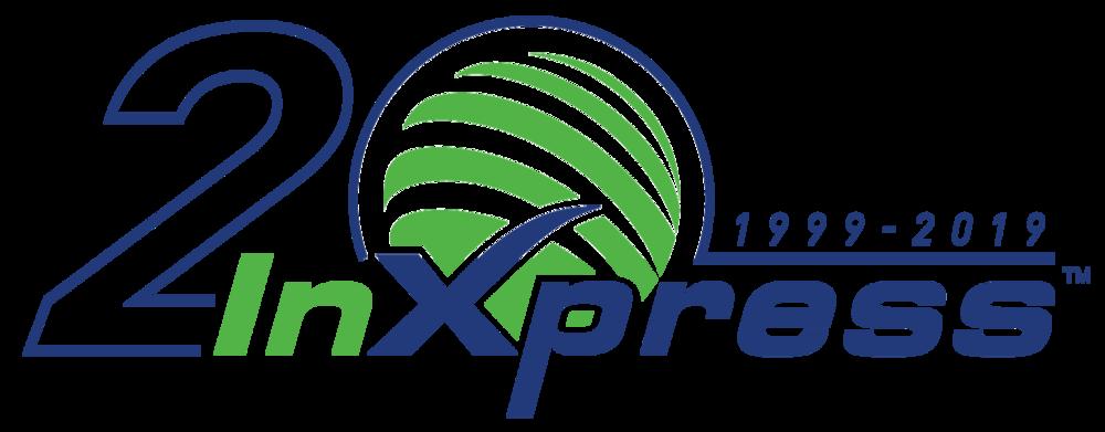 20 year InXpress Logo.png