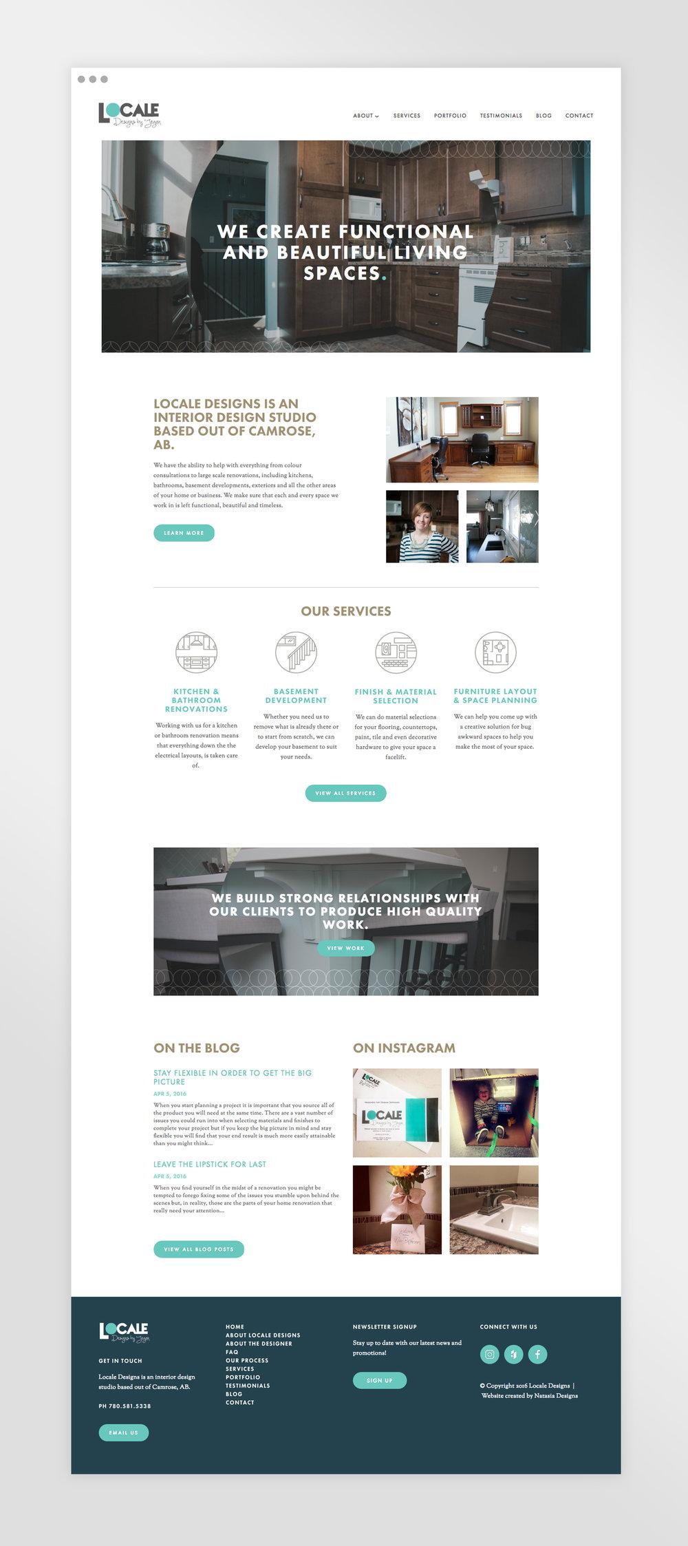 Natasia Designs Edmonton Freelance Graphic and Website Designer