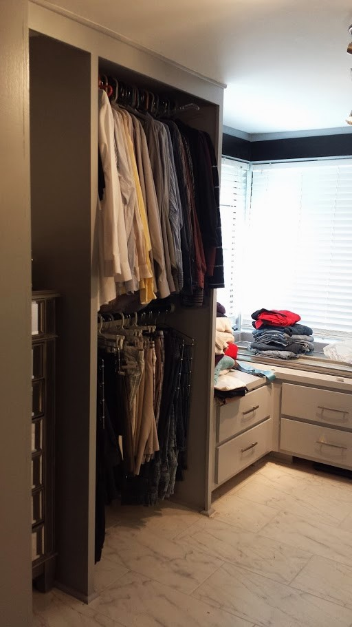 Re-organize your closet with beautiful built-ins.