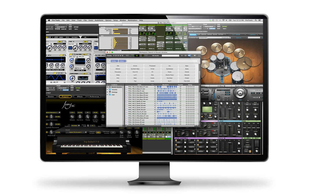 Pro Tools 12.7 Download Now Available
