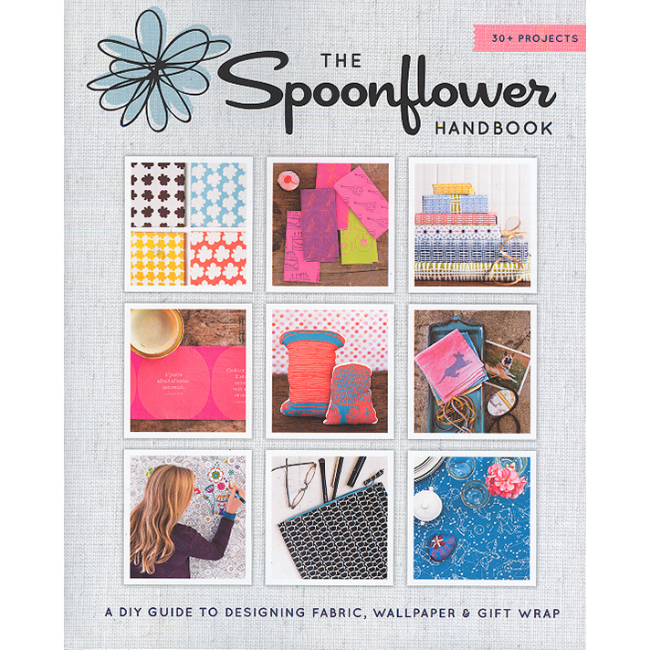 The Spoonflower Handbook Cover