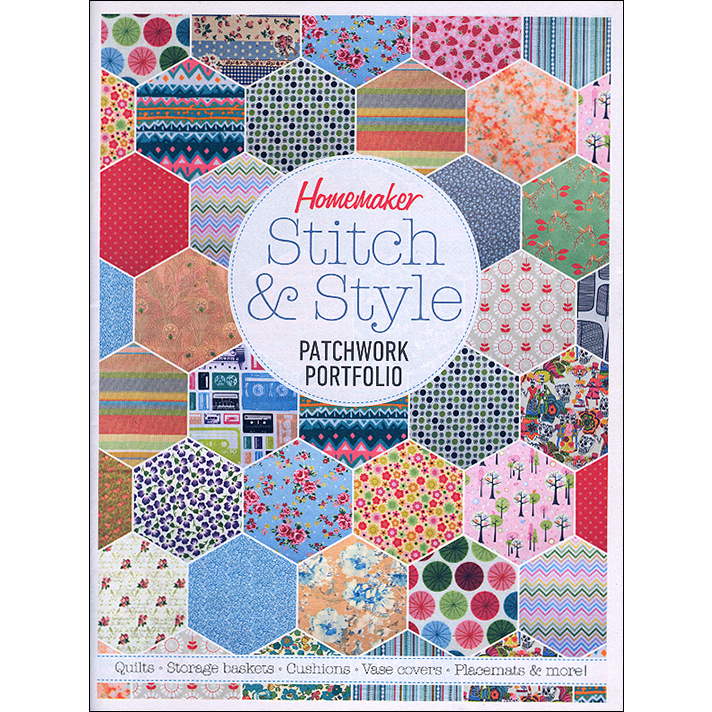 Homemaker Stitch & Style Patchwork Portfolio Cover