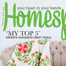 HOMESPUN MAGAZINE April 2014