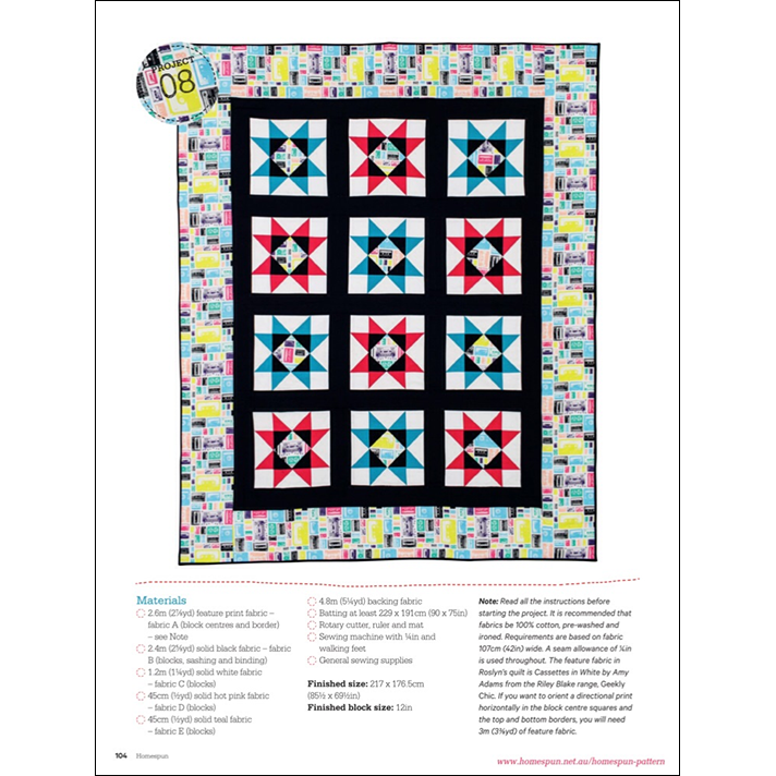 Neon Pop Quilt Instructions