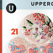 UPPERCASE Magazine: Issue 21 - April 2014As a special insert for this issue, the first ever Surface Pattern Design Guide includes work from 100 top surface pattern designers.
