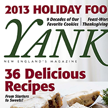 YANKEE MAGAZINE November 2013