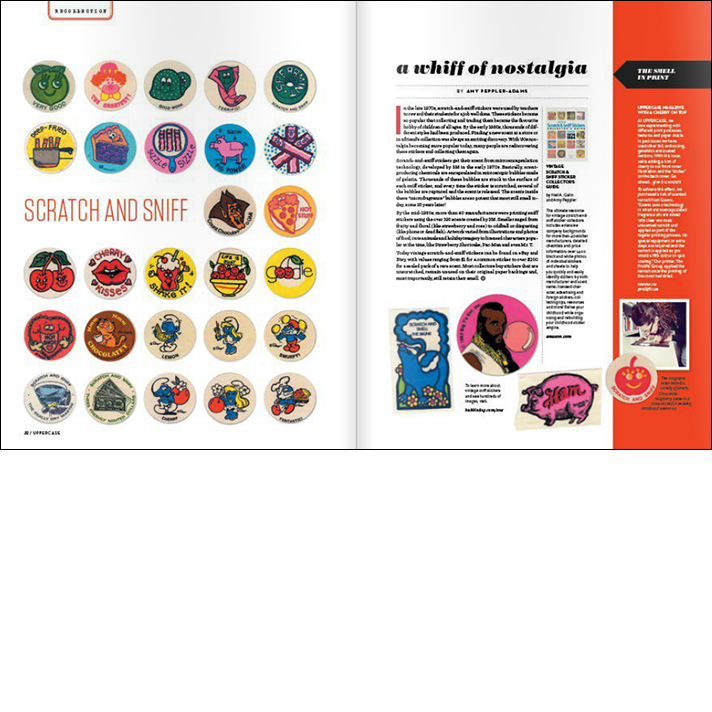 Uppercase Magazine Scratch and Sniff Article
