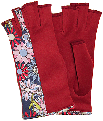 Hippie Love gloves by Digee Pop