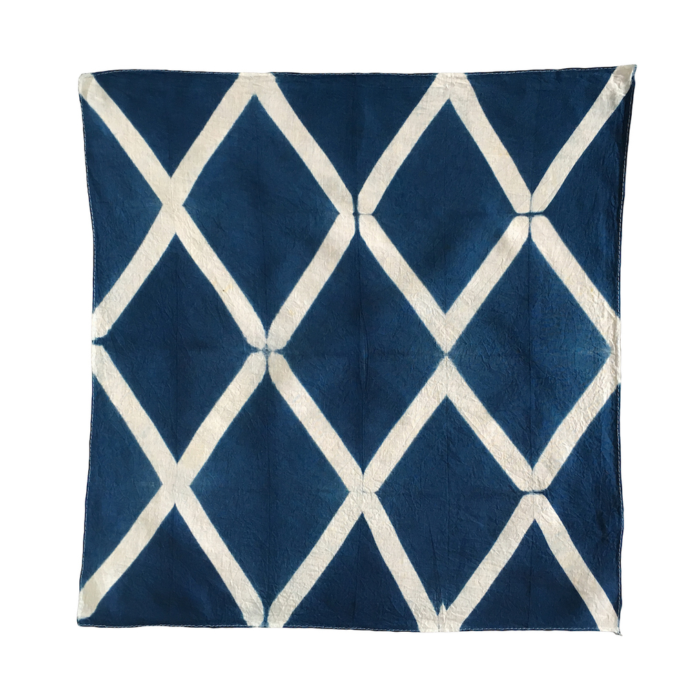 Lattice Diamond Shibori Pattern