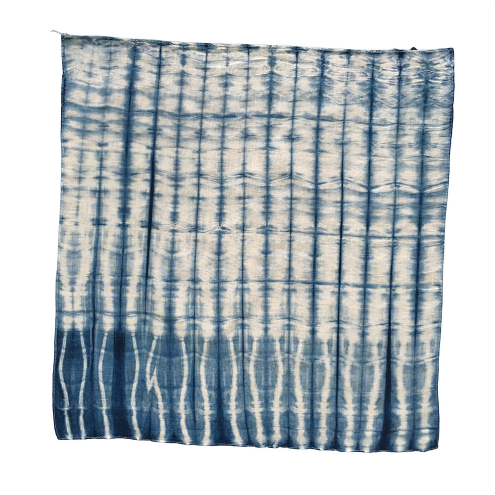 Shibori Stripe Instructions String Natural Dye Kits