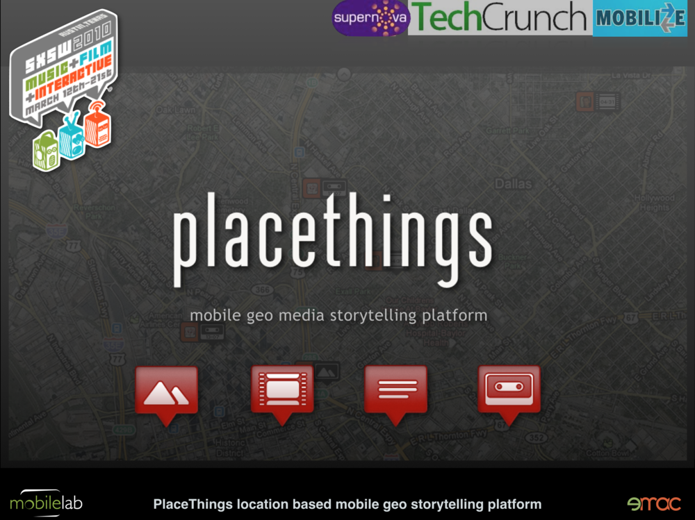Placethings Geo Storytelling Platform
