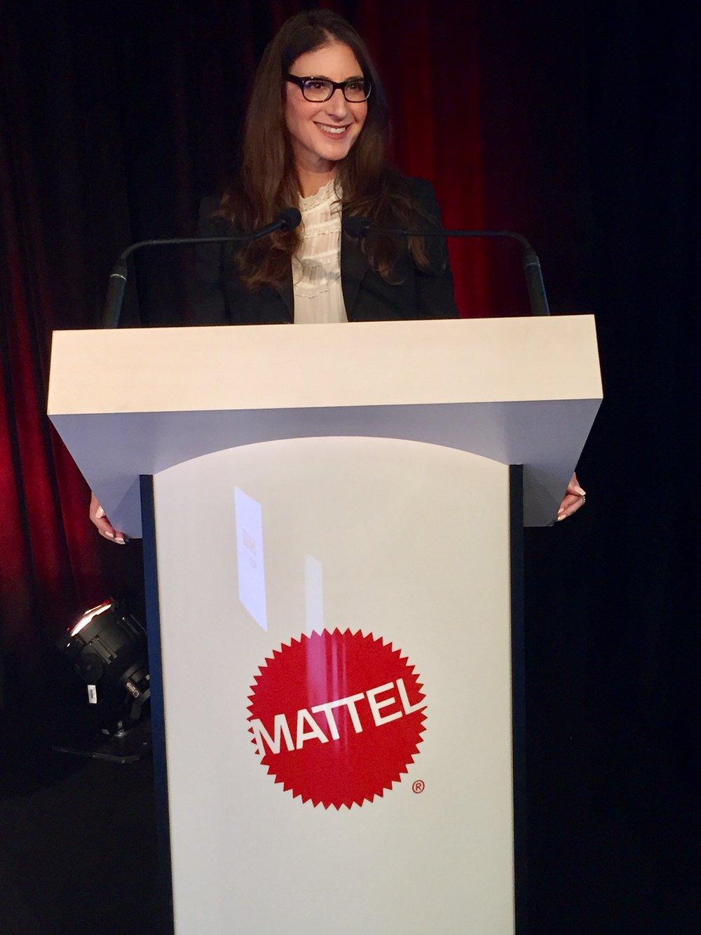 Tami Holzman Keynote Mattel Conference