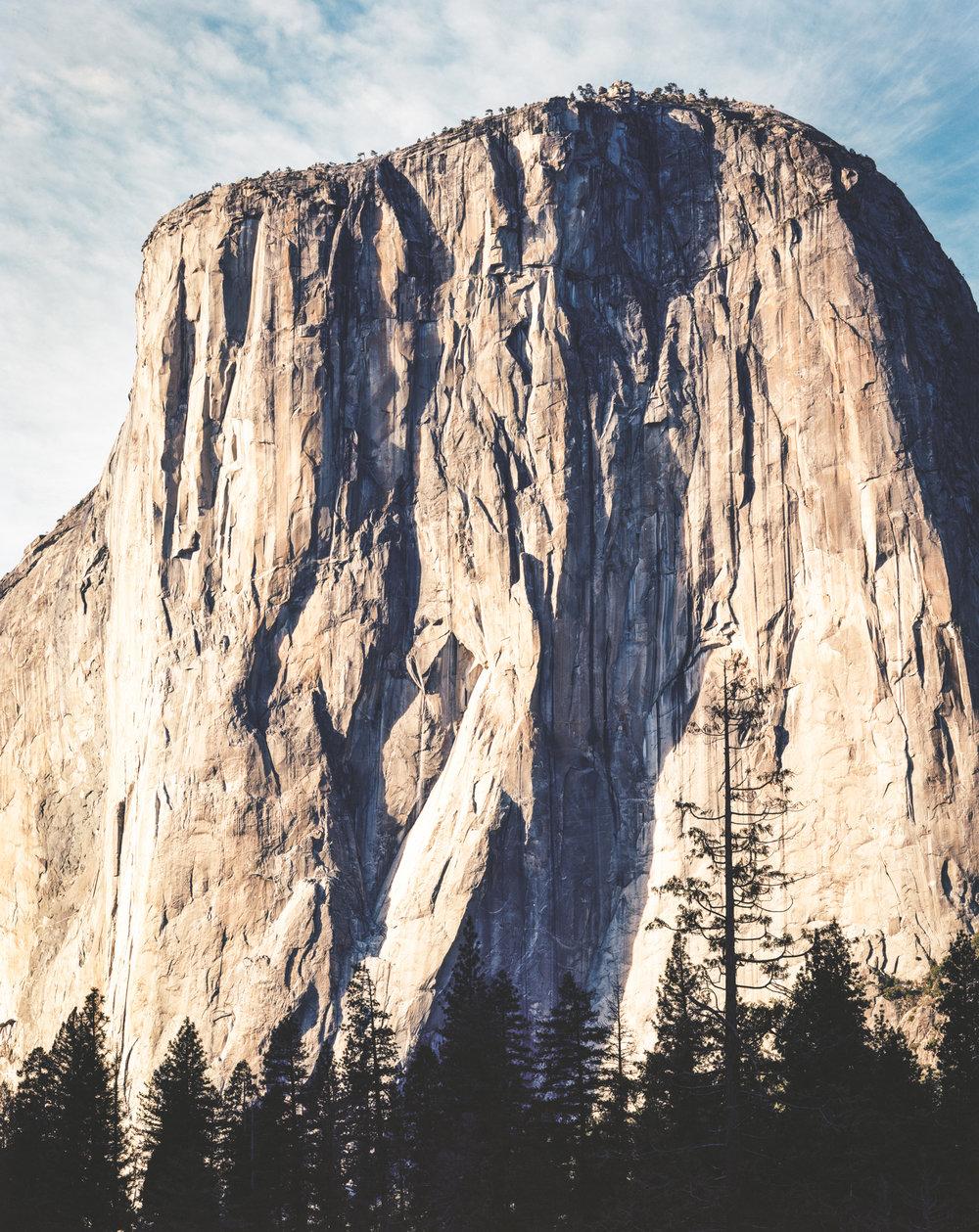 El Capitan (Tu-Tok-A-Nu'-La), Yosemite Valley / Kodak Ektar 100