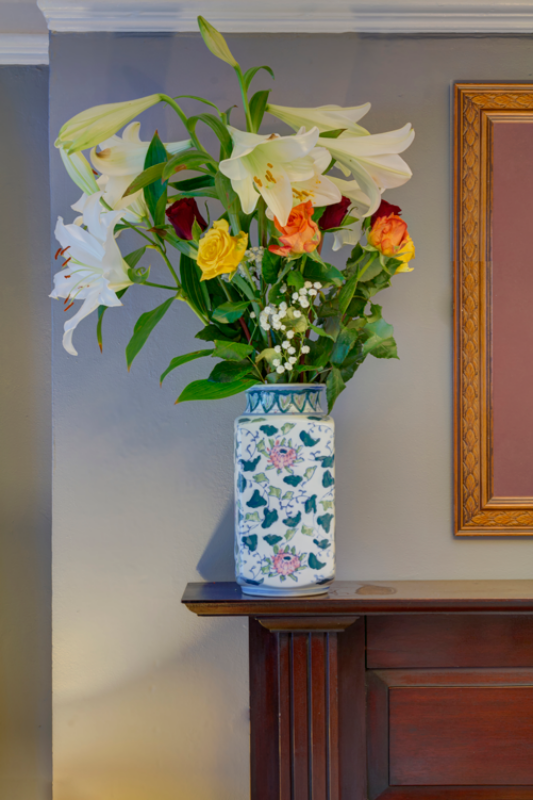 Avoca House B&B Flowers
