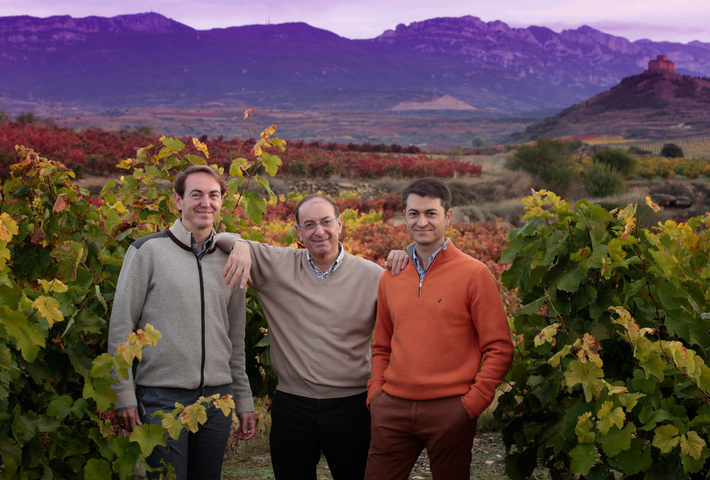 Santiago, Pedro and Rafael Vivanco, La Rioja Alta