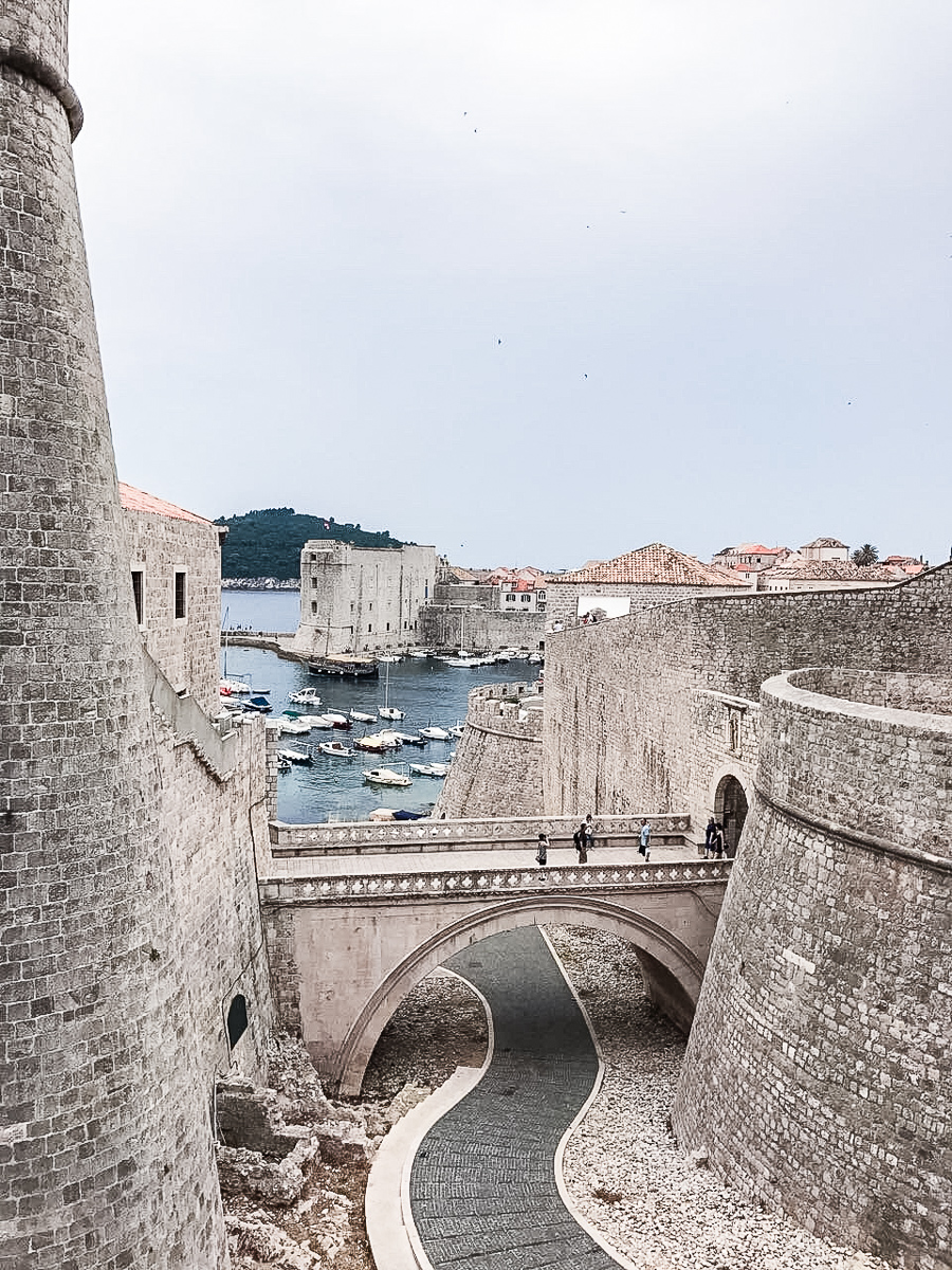 Dubrovnik_harbor_slow_travel_croatia_road_trip