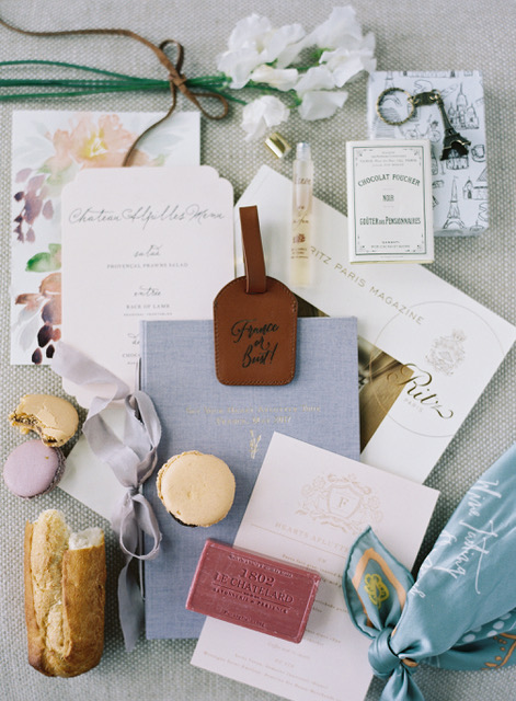 travellur_slow_travel_photoshoot_france_provence_flowers_Florals_Myrtle&Olive_Stylist_Joy Proctor_retreat_flatlay_macaroon_travel_tag_luxury