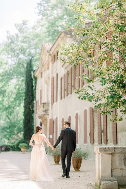 Provence_wedding_venues_Chateau_de_Roussan_facade