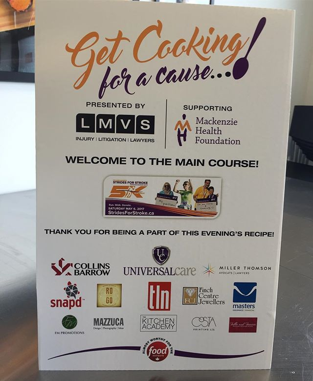 Get cooking for a cause!